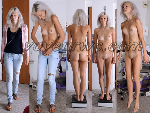 Gyno-clinic - Barbara 20 years, 175 cm, 52 kgs (Gynecologic Exams)