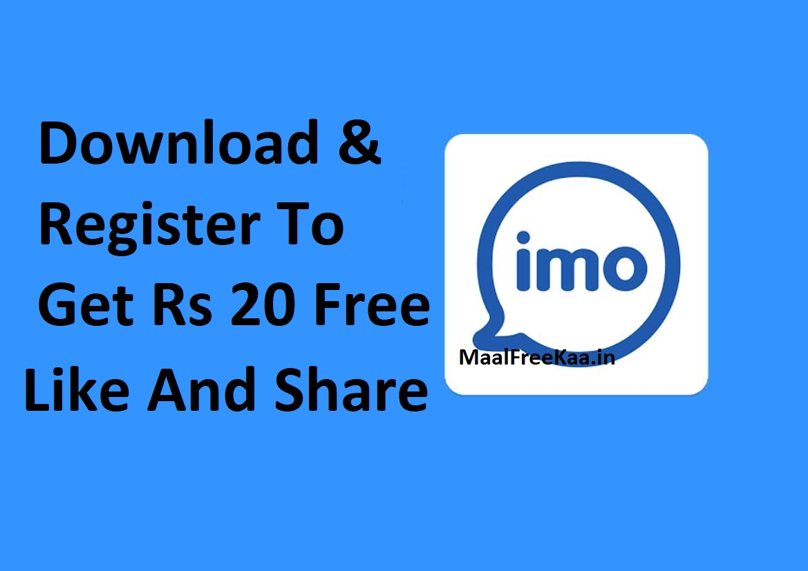Rs 20 Recharge Free Refer & Earn - Freebie Giveaway Contest - Win