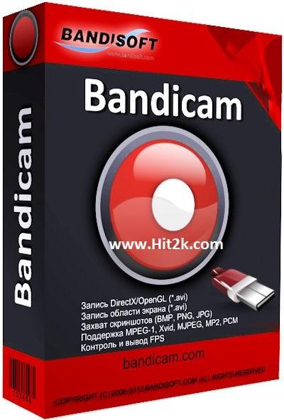 Bandicam 3.0 Crack , Lifetime Key Full Version