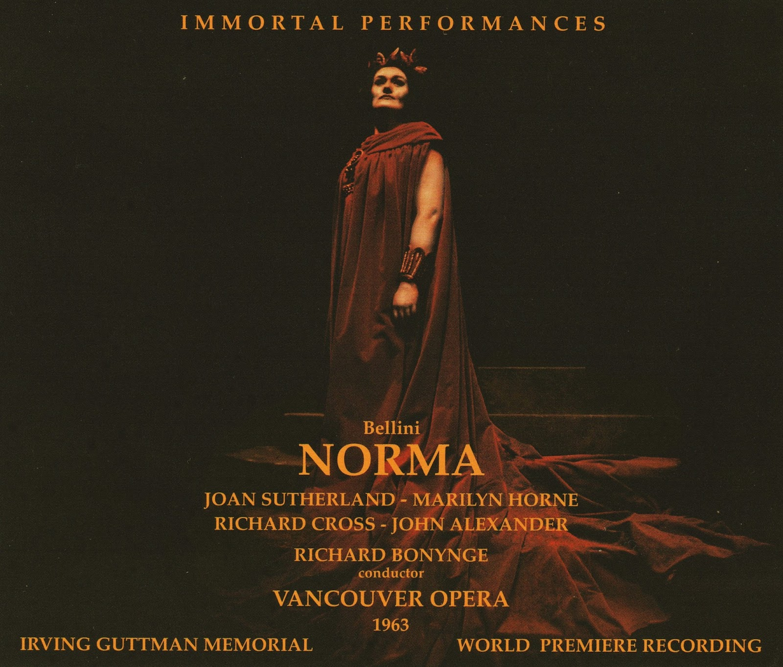 REASON FOR CELEBRATION IN GAUL: Vincenzo Bellini - NORMA (Immortal Performances IPCD 1055-3)