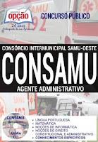 Apostila CONSAMU PR 2017 Agente Administrativo