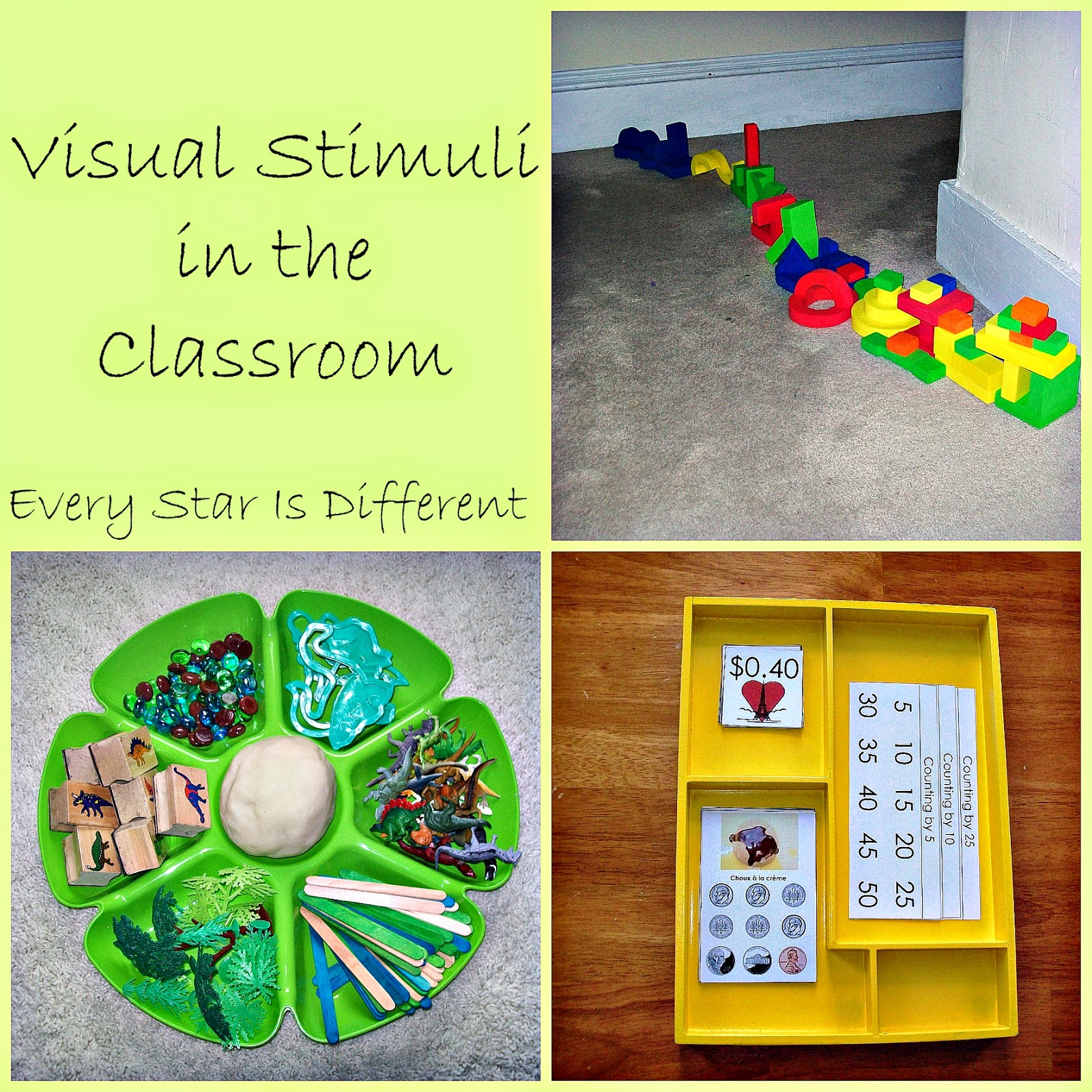 Visual Stimuli in the Classroom