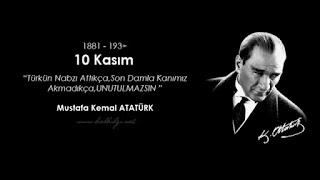 Atatürk ü gururla anıyoruz