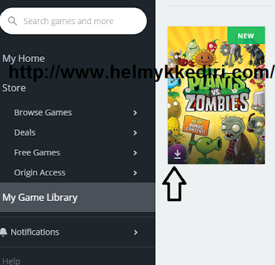 Cara download dan install game origin kekomputer1