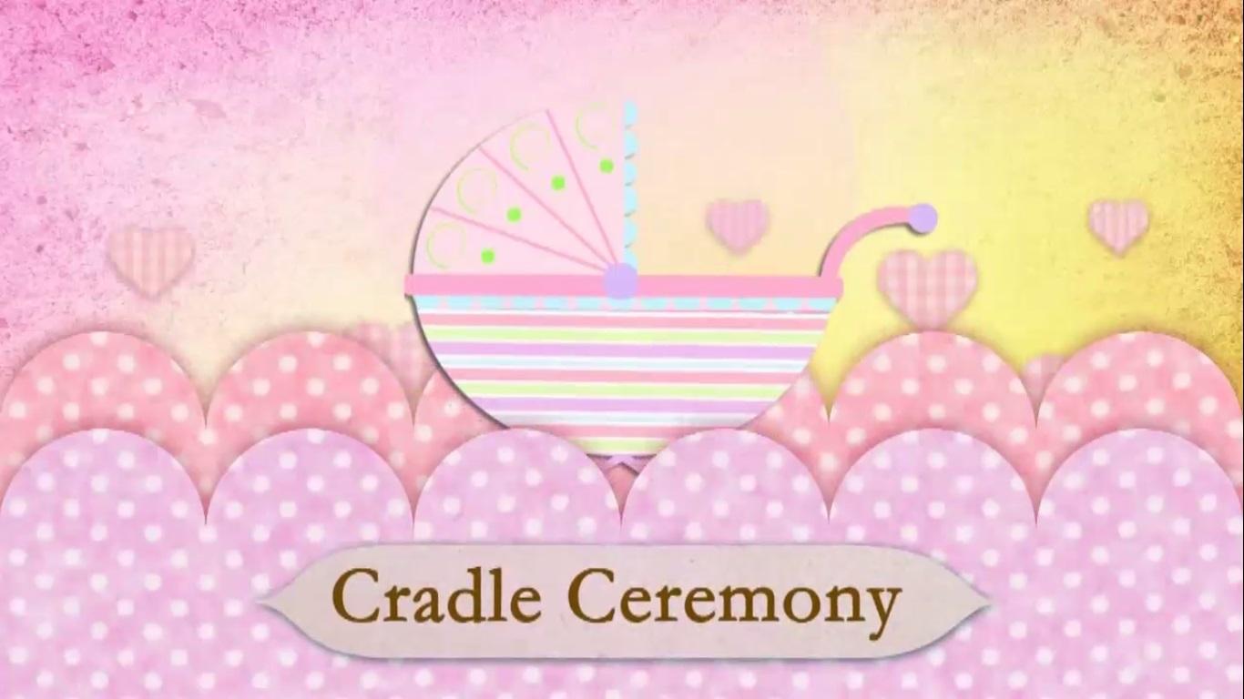 CRADLE CEREMONY INVITATION CODE:CM002A - Make Ur Moments