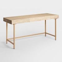 drift wood wooden desk for small spaces