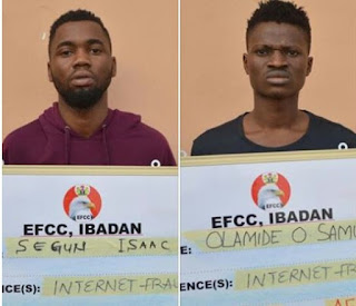 Polytechnic Ibadan Student, Two Others Jailed For Internet Fraud