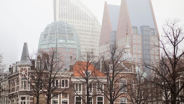 Top places to visit in the Netherlands: The Hague on a foggy day
