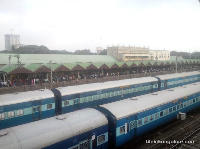 Bangalore City Railway Station Photo Gallery