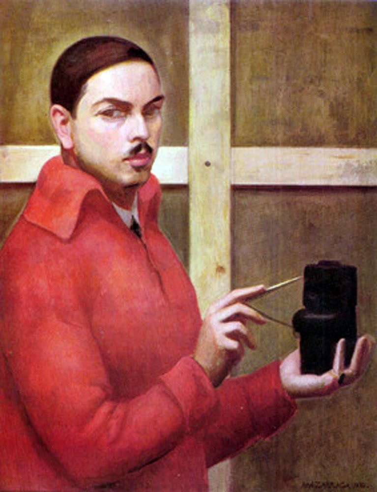 Ángel Zárraga y Argüelles, Portraits of Painters, Self-portraits, fine art, Ángel Zárraga