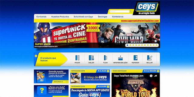 Ceys página web
