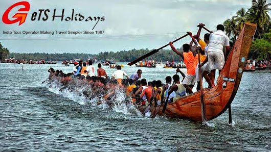 Kerala Backwaters Dazzle with Snake Boat Races during Onam