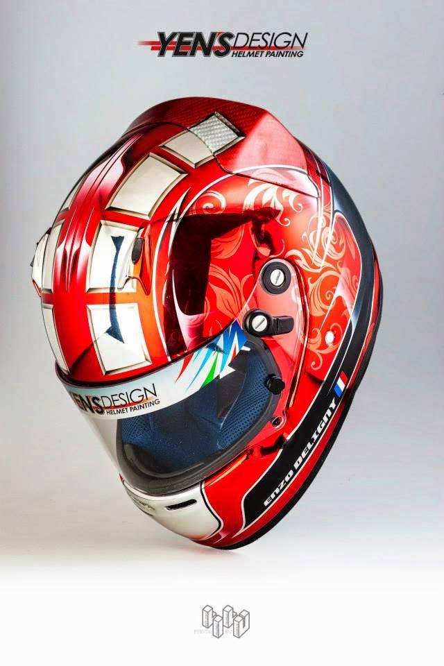 Racing Helmets Garage Arai Ck 6s E Deligny 2014 By Yen S