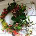 Szélfútta őszi ajtókoszorú - Tippek és trükkök koszorú készítéséhez