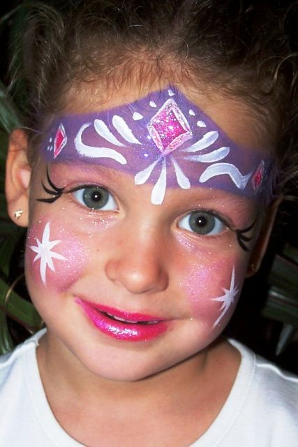 Fairy Princess Face Painting Ideas