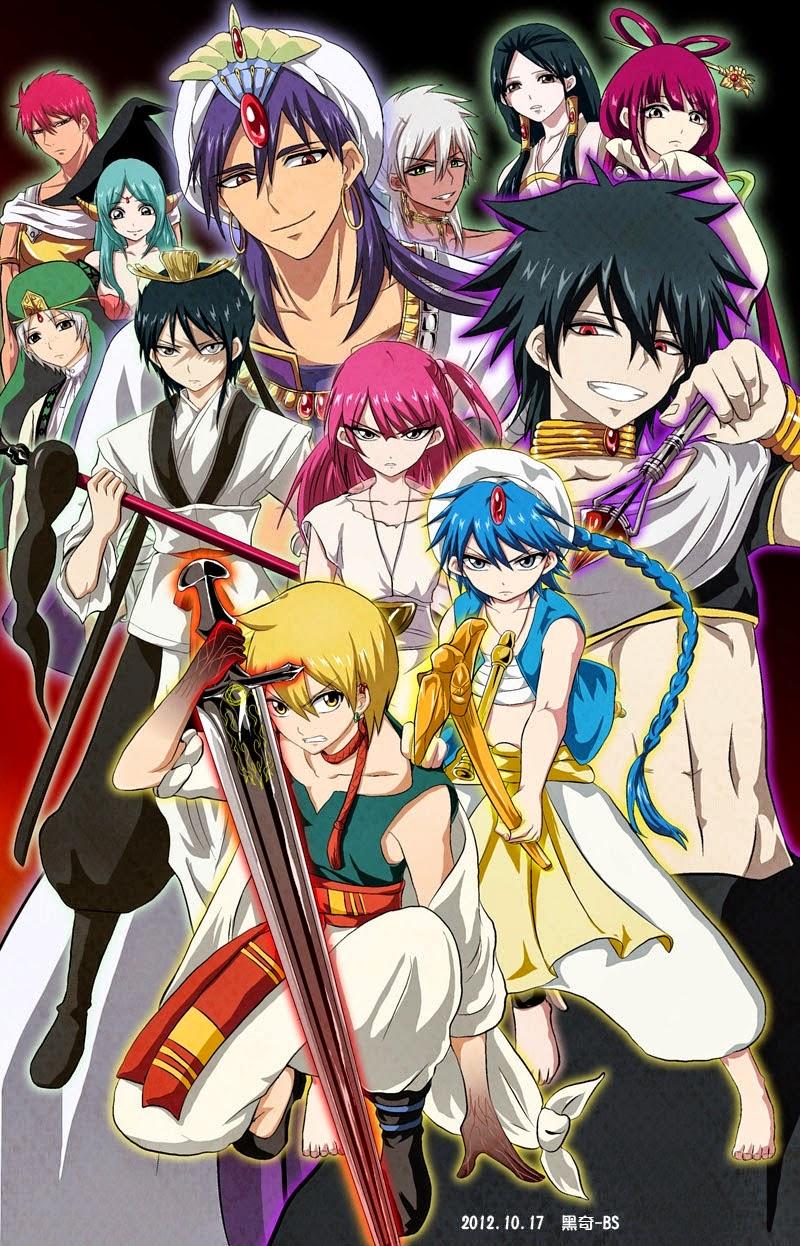 Butuh Anime Petualangan Dengan Benda Sakti Ada Nih Magi Nama Animenya Di Daerah Timur Tengah Yang Mana Zaman Saat Banyaknya