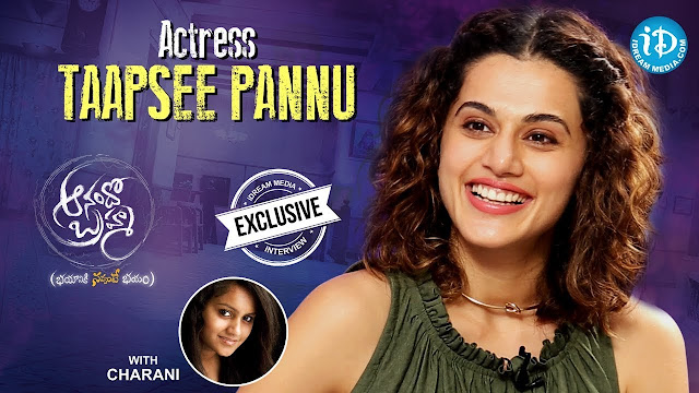 Taapsee Pannu Exclusive Interview About Anando Brahma Movie