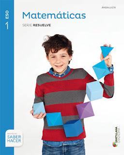 Libro Matemáticas 1º ESO Santillana Proyecto Saber Hacer Serie Resuelve