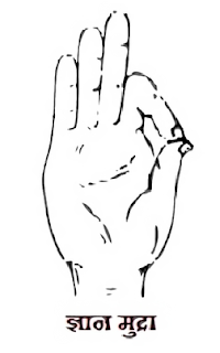 Gyan mudra steps, posture and benefits in Hindi
