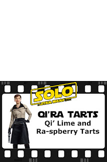 Qi'ra Tarts Printable Food Label - Star Wars