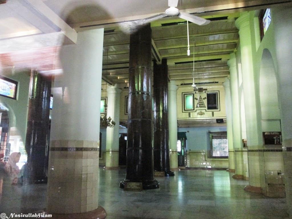 Empat Soko Guru dibagian dalam Masjid Agung Demak