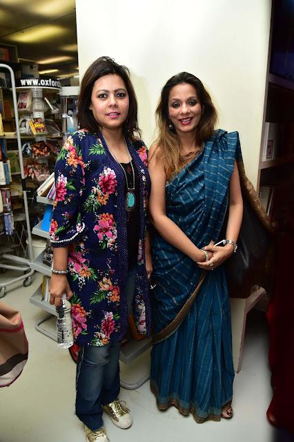 Shahana Mookerjea with Sunaina Malhotra-