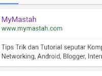 Memasang Deskripsi Blog pada pencarian Google