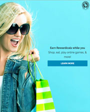 Earn Rewardicals while You Shop!