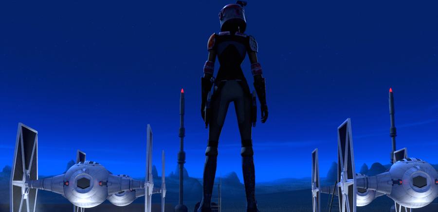Sabine, unul din primii rebeli ai galaxiei