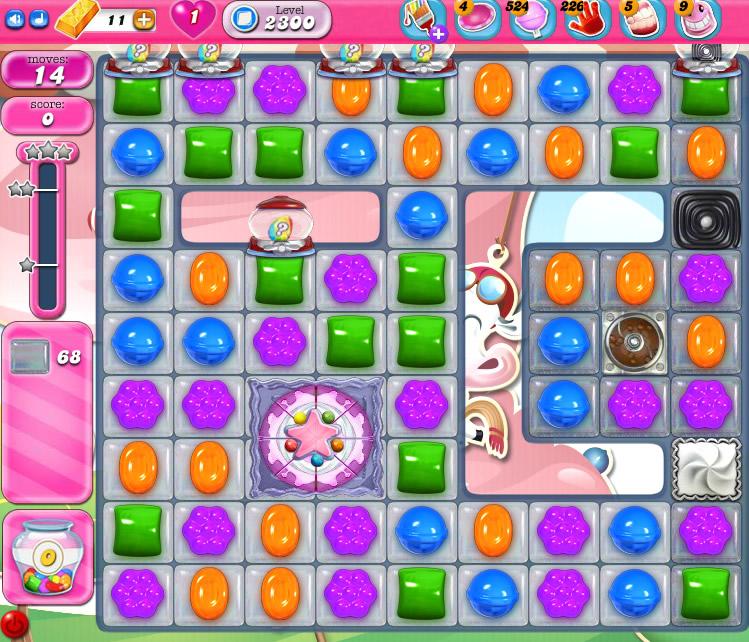 Candy Crush Saga level 2300