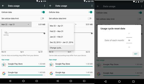Cara Mengatur Batas Data Internet Bulanan Anda 2