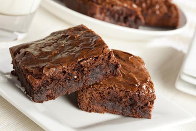 Torta Brownies de chocolate semiamargo