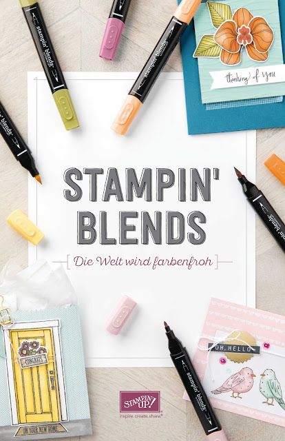 Stampin Blends-Stampin Up