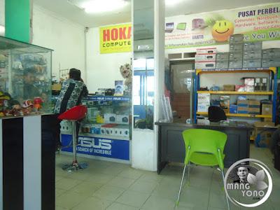 HOKA COMPUTER Pamanukan. Foto dok. Mang Yono