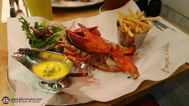 Burger & lobster sky avenue, Resorts World Genting, udang karang nova scotia,