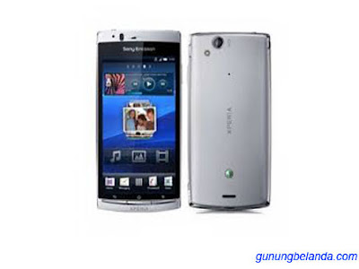 Cara Flashing Update Sony Ericsson Xperia arc LT15i