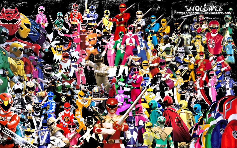 Power Ranger Combination