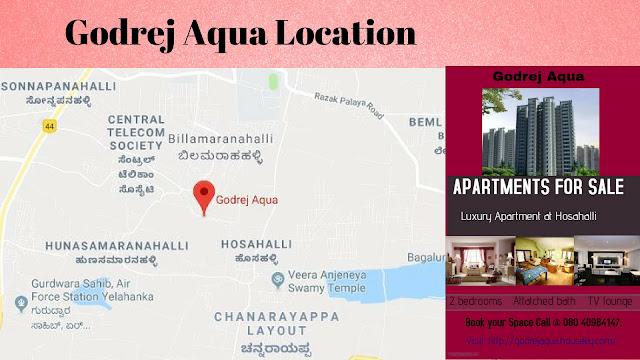 Godrej Aqua Location, Godrej Aqua Hosahalli, Godrej Aqua Bangalore