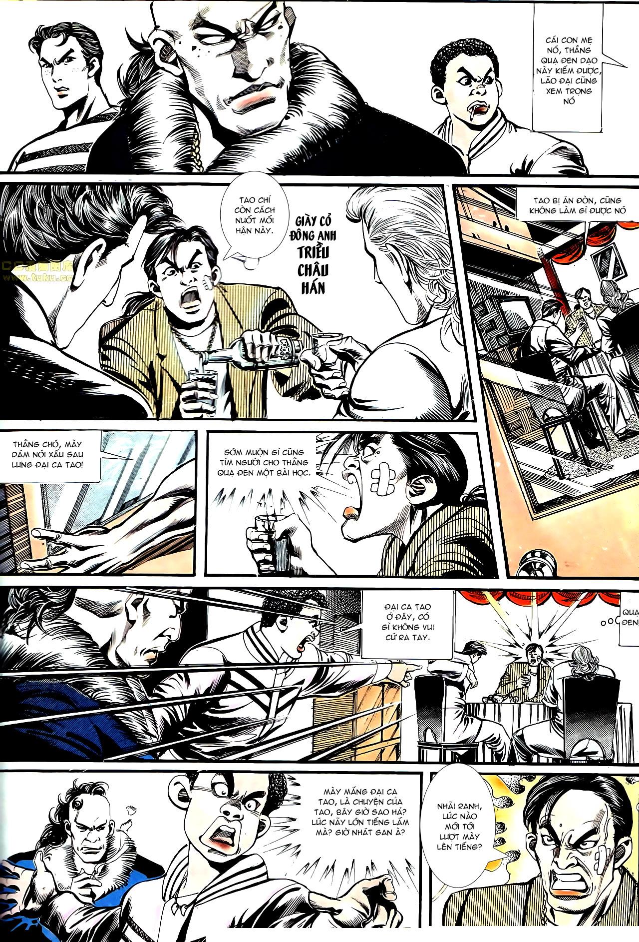 Người Trong Giang Hồ chapter 152: trăng sáng chiêm đông trang 25