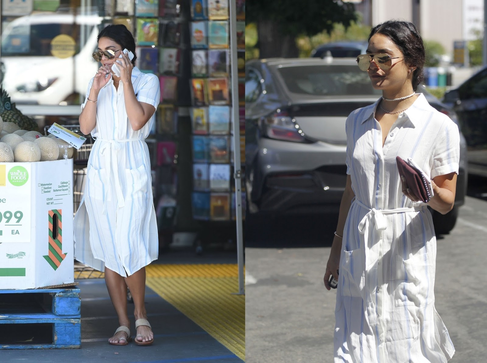 Vanessa Hudgens Whole Foods