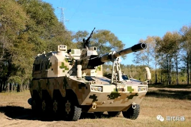 Photos of the day: 155mm 39 calibre wheeled SH-11 self-propelled howitzer