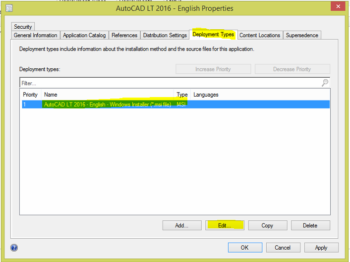 How to deploy AutoCAD using SCCM 10