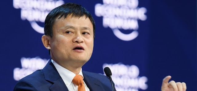 Jack Ma owner of $414 Billion Alibaba's Group - Blockchain Needs to Target Manufacturing Industry