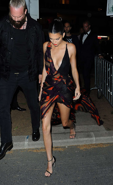 Fashion Model, @ Kendall Jenner Arriving at The Magnum Party in Cannes