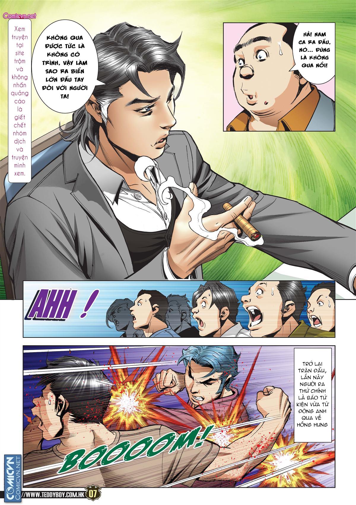 Người Trong Giang Hồ chapter 2119: nam ca vs thượng võ trang 6