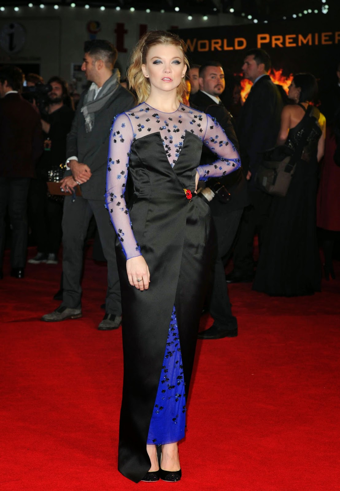 Natalie Dormer at Premiere of 'The Hunger Games: Mockingjay Part 1′ in London