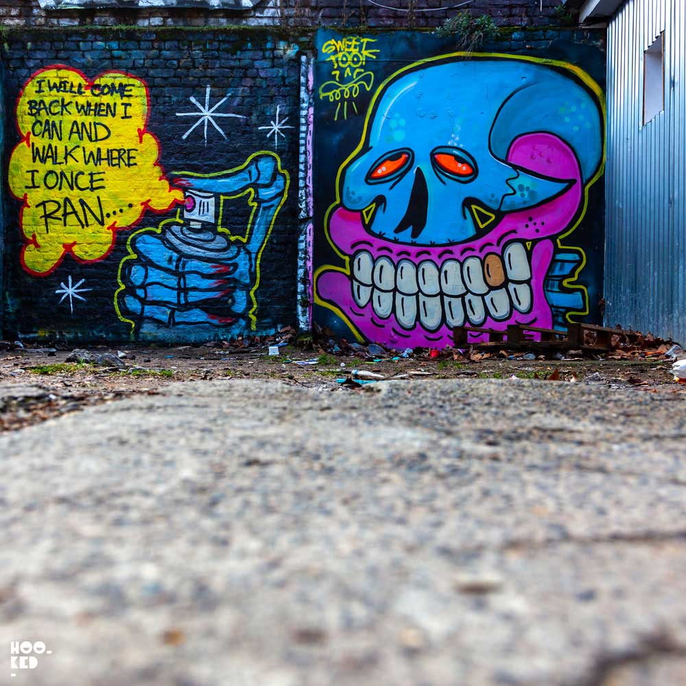 New Brick Lane Street Art by UK Artist Sweet Toof