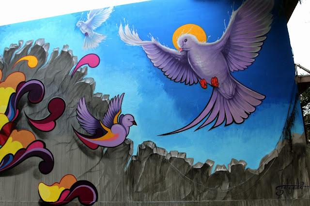 Street Art By Juan Salgado For Los Muros Hablan '13 In San Juan, Puerto Rico 2