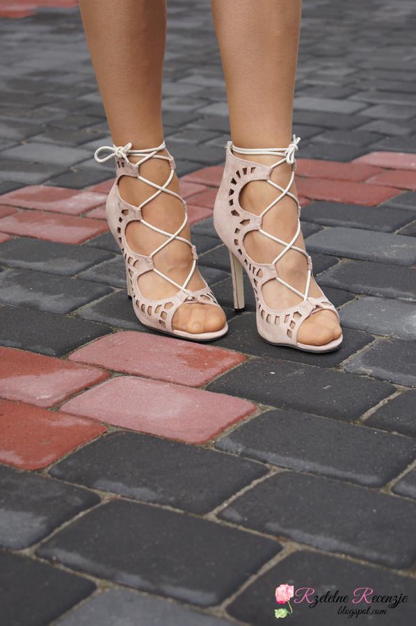 CNDirect, sandaly wiazane, buty z wiazaniem, sandaly ze sznurowkami