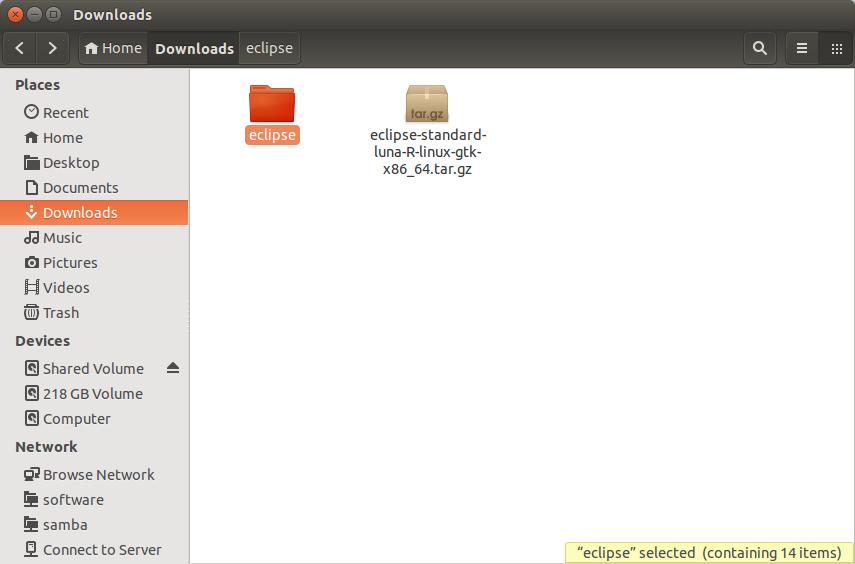 Difusal: How to install Eclipse Luna (4 4) on Ubuntu